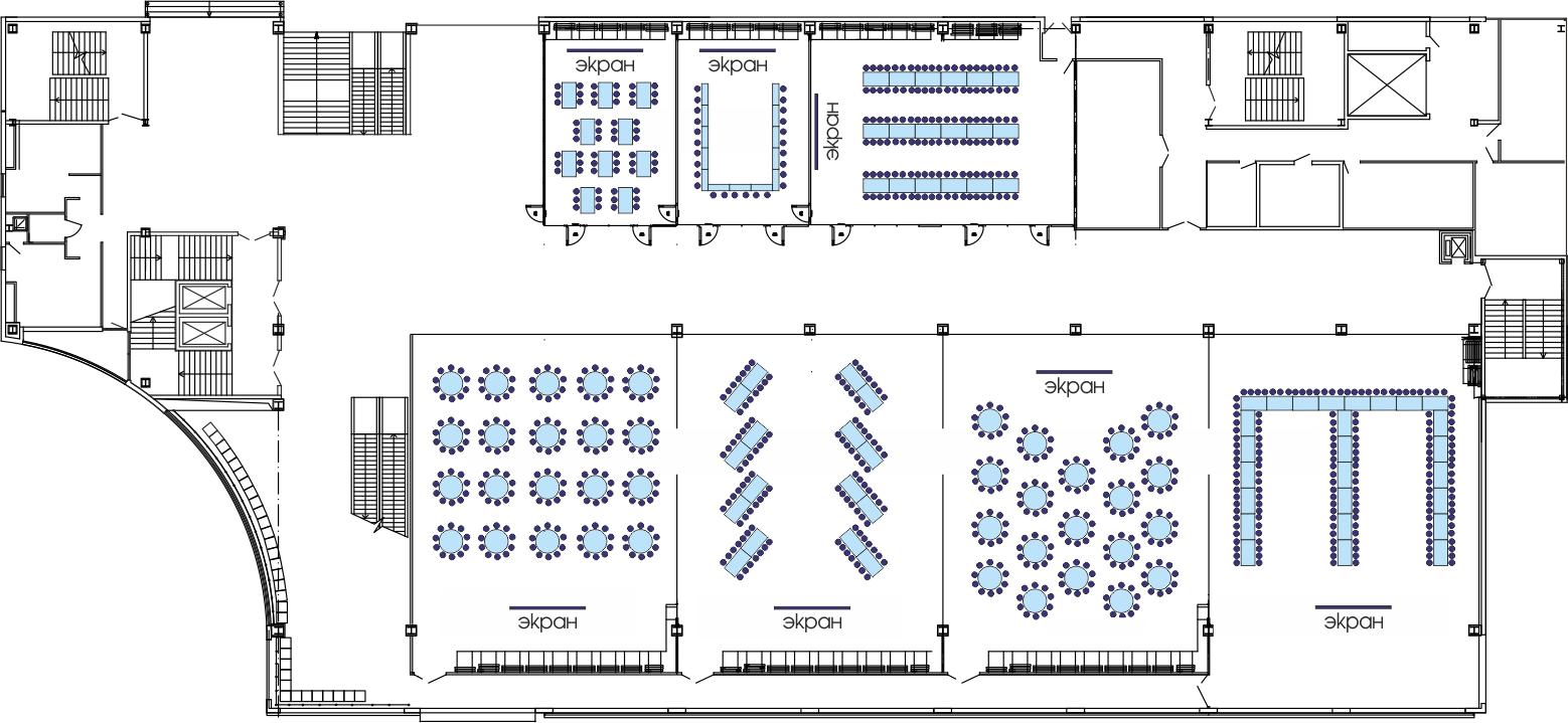 Планировки Банкетных залов