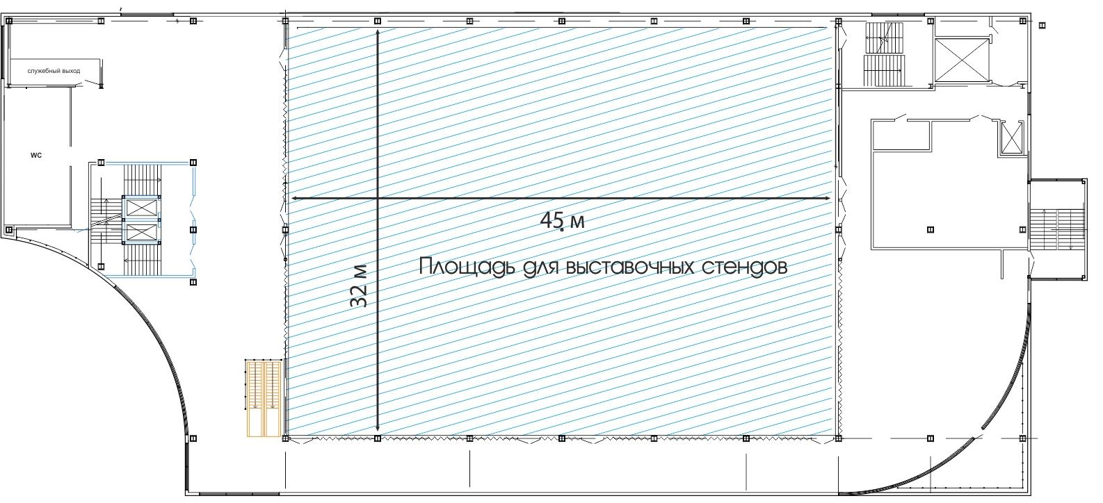 Планировки Выставочных залов