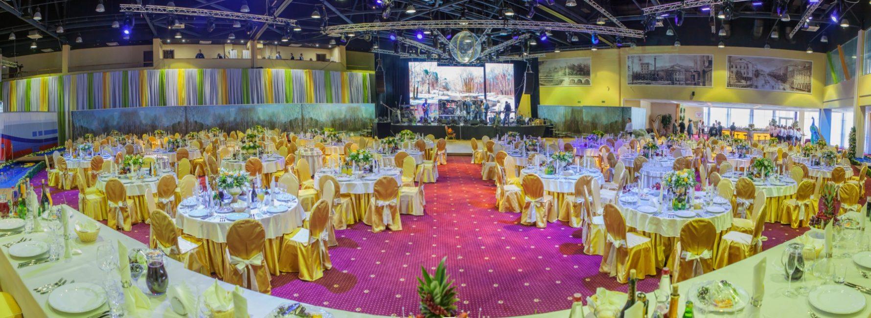 Современные банкетные залы в Орле