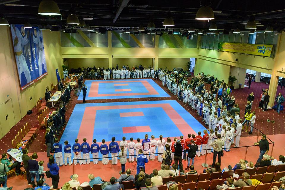 08. Соревнования по каратэ.